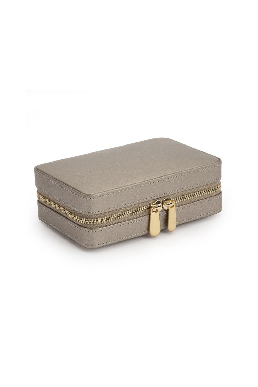Palermo Pewter Zip Case
