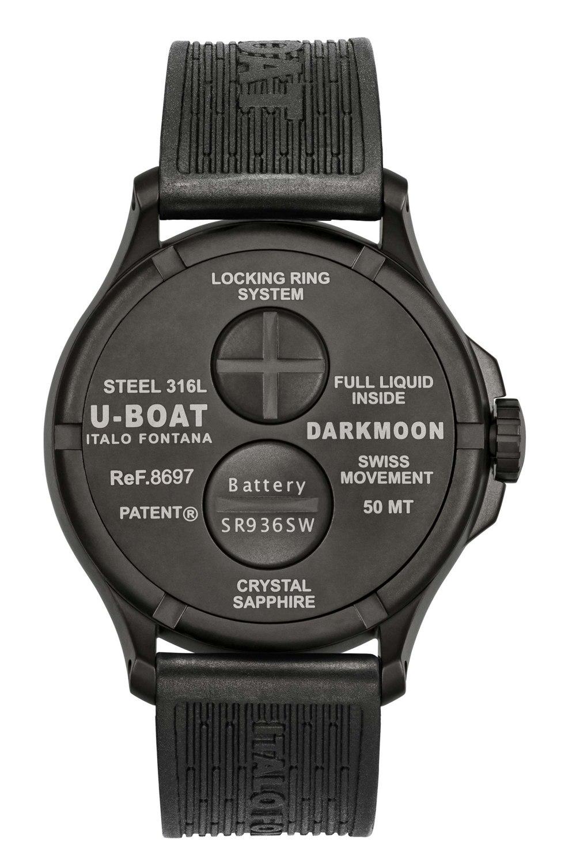 Kessaris-Uboat-Darkmoon 44MM Red IPB Soleil Back