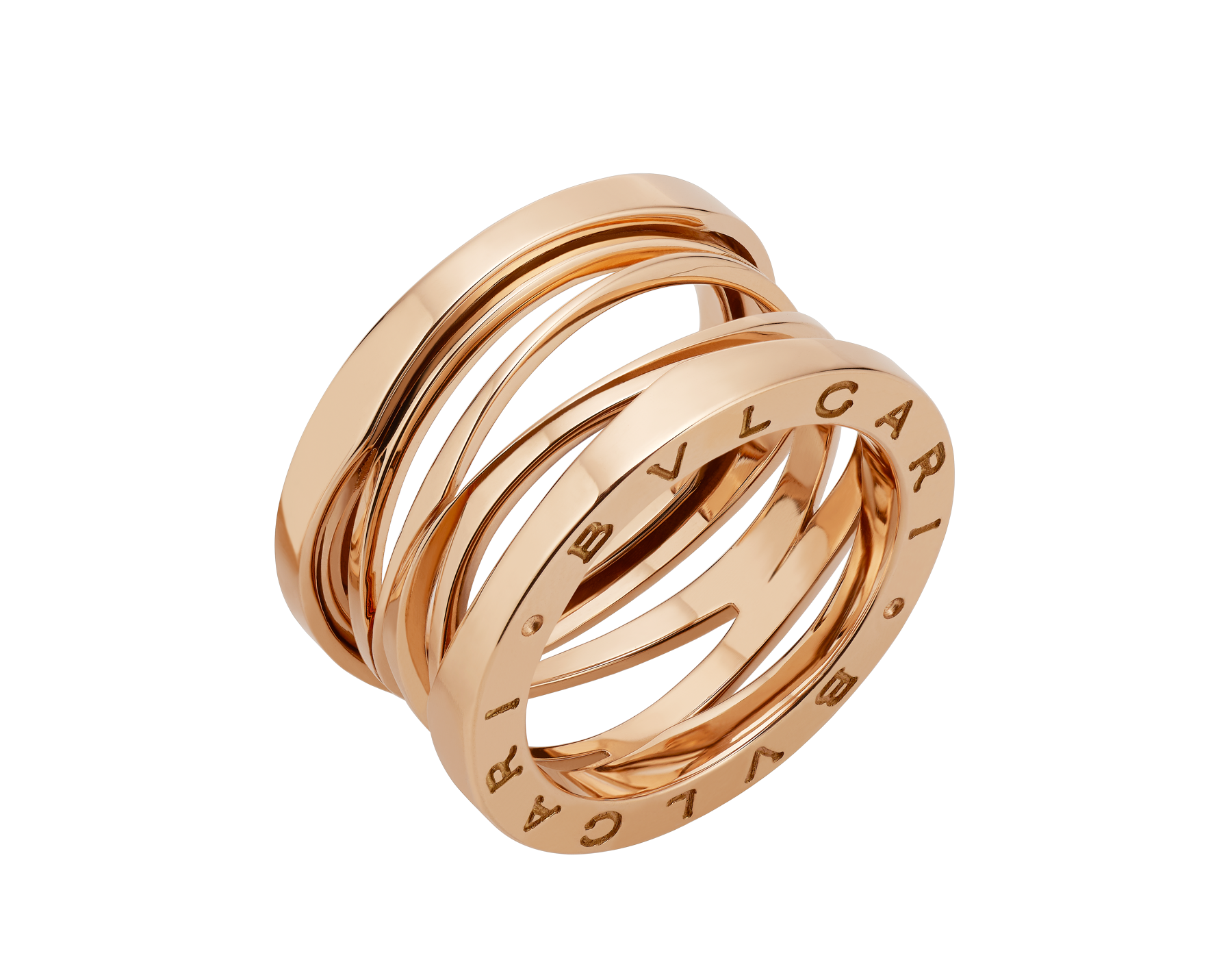 Bulgari B Zero1 Design Legend Four Band Ring J Bvl