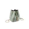 Bulgari Serpenti Forever Micro Bucket Bag Mint Metallic
