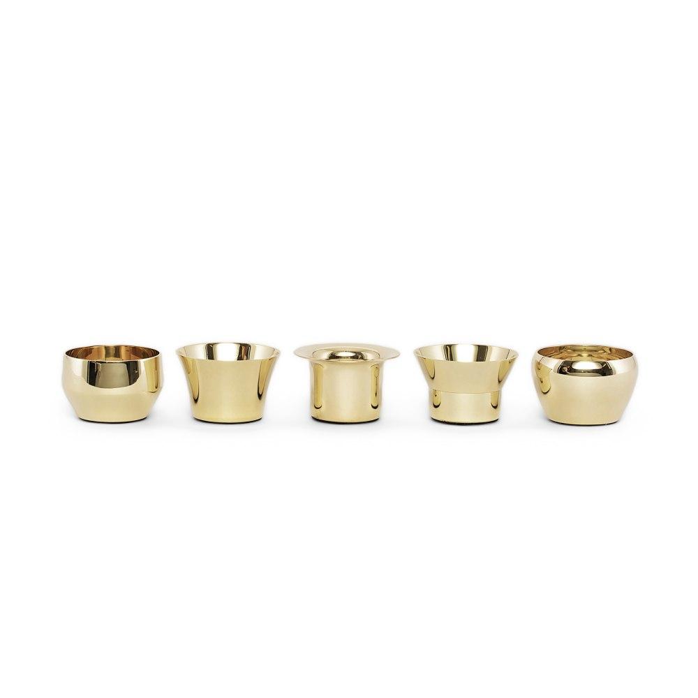 SKULTUNA Kin Brass Candle Holder 763