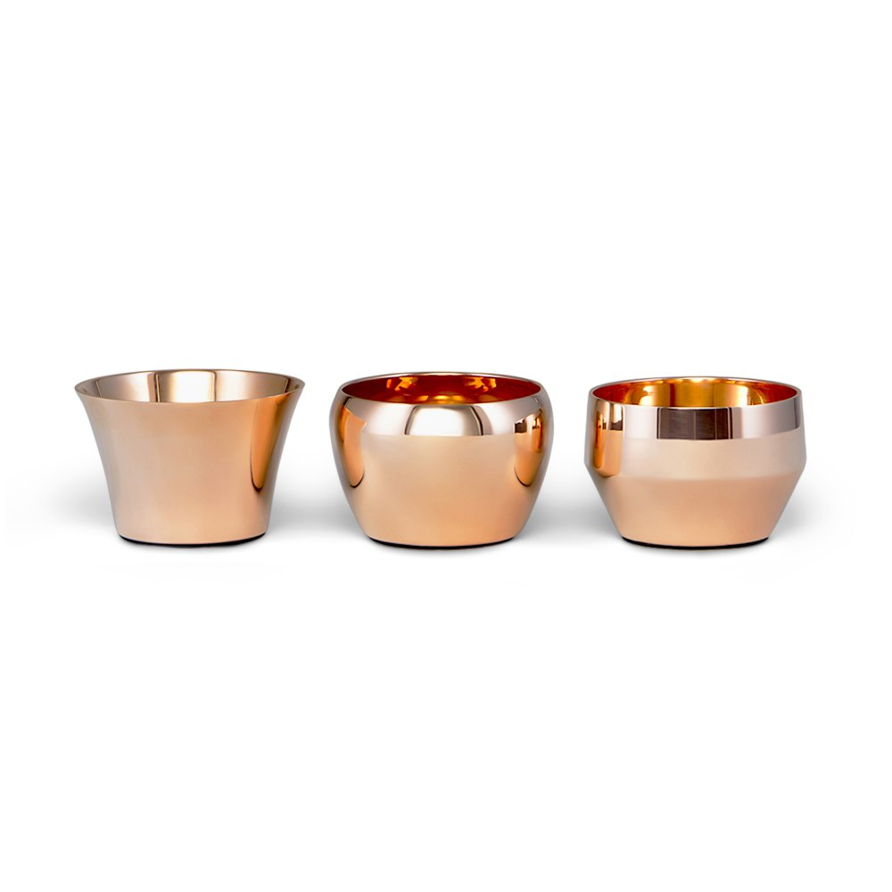 SKULTUNA Kin Copper Candle Holder 763-C-2-4-5