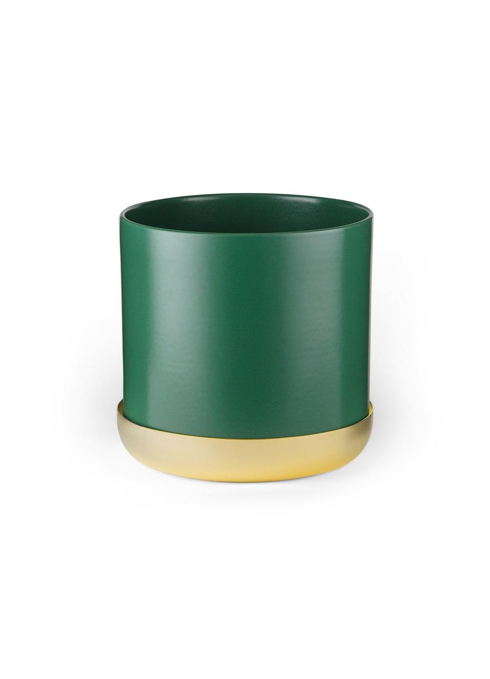 SKULTUNA Nurture Planter Large Green with Tray 621-G-L