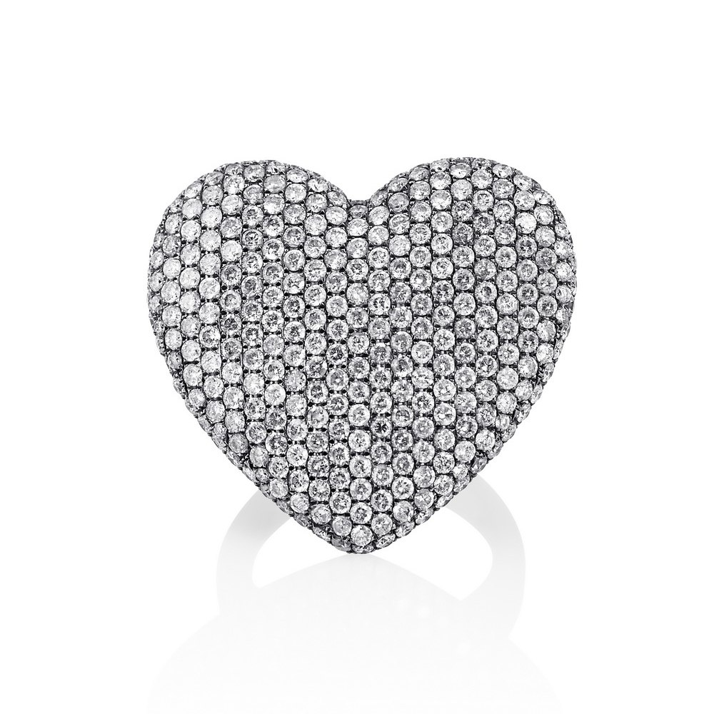 KESSARIS Heart Diamond Ring DAE84668