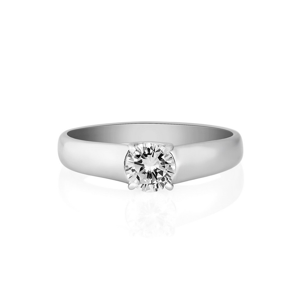 KESSARIS Solitaire Brilliant Diamond Ring DAP172093