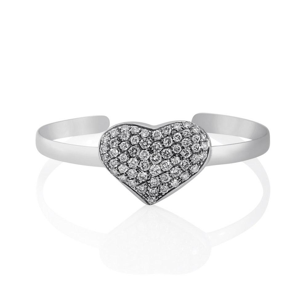 KESSARIS Heart Diamond Bracelet BRP142674