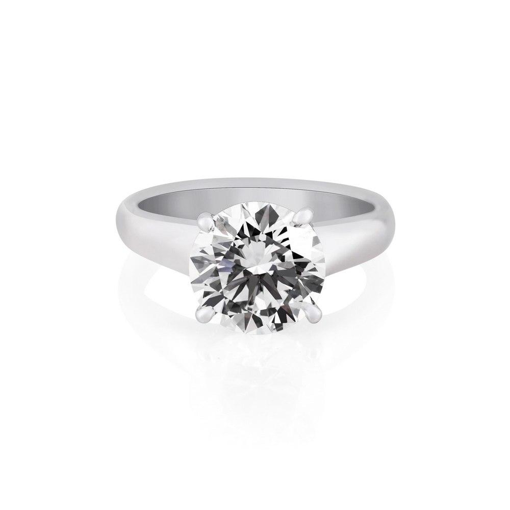 KESSARIS Solitaire Brilliant Diamond Ring DAP161996