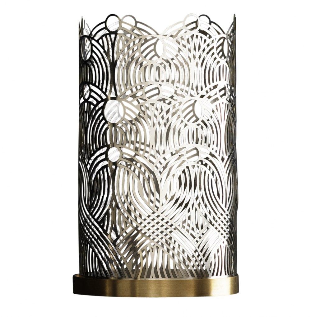 SKULTUNA Silver Candle holder KHE169053