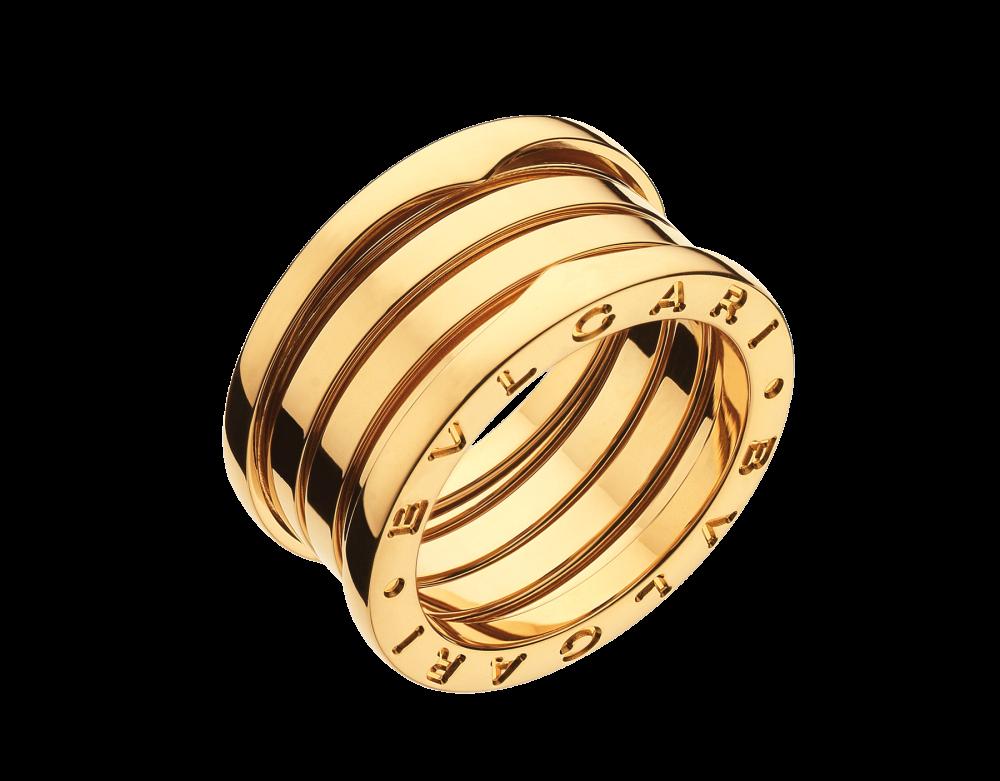 BULGARI B.zero1 four-band ring AN191025