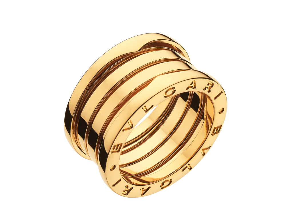 BULGARI B.zero1 four-band ring AN191025