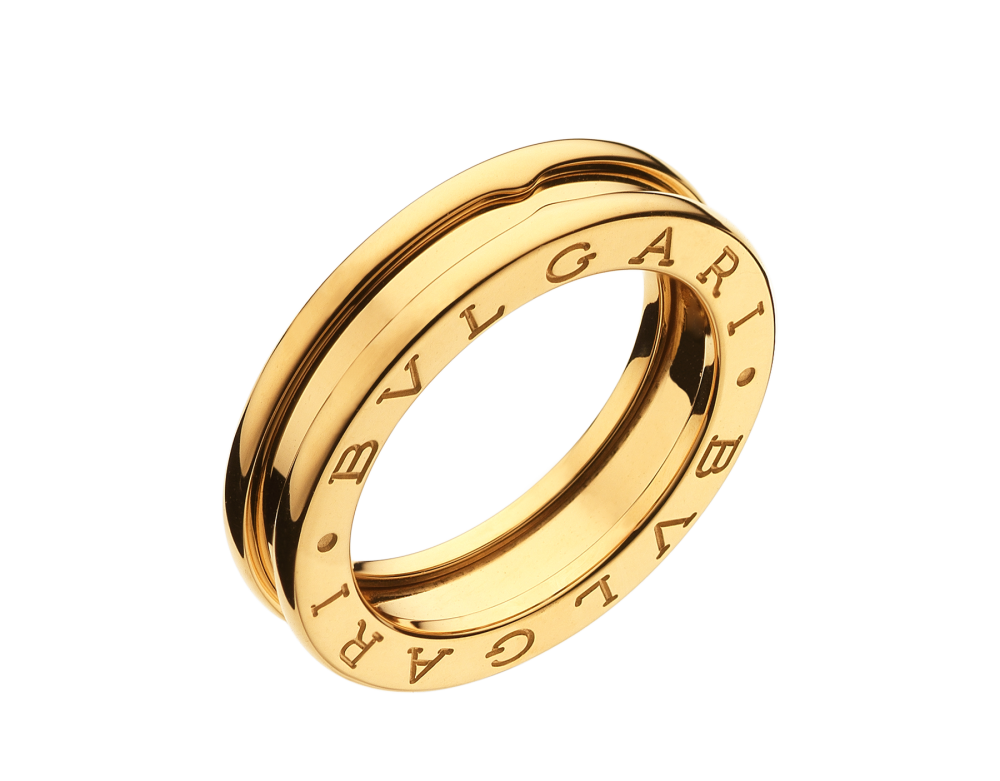 BULGARI B.zero1 one-band ring AN852260