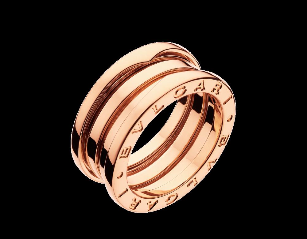 BULGARI B.zero1 three-band ring AN852405