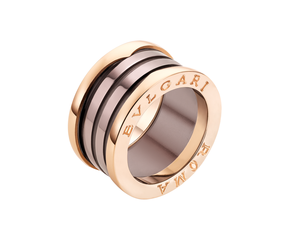 BULGARI B.zero1 ROMA four-band ring AN856887