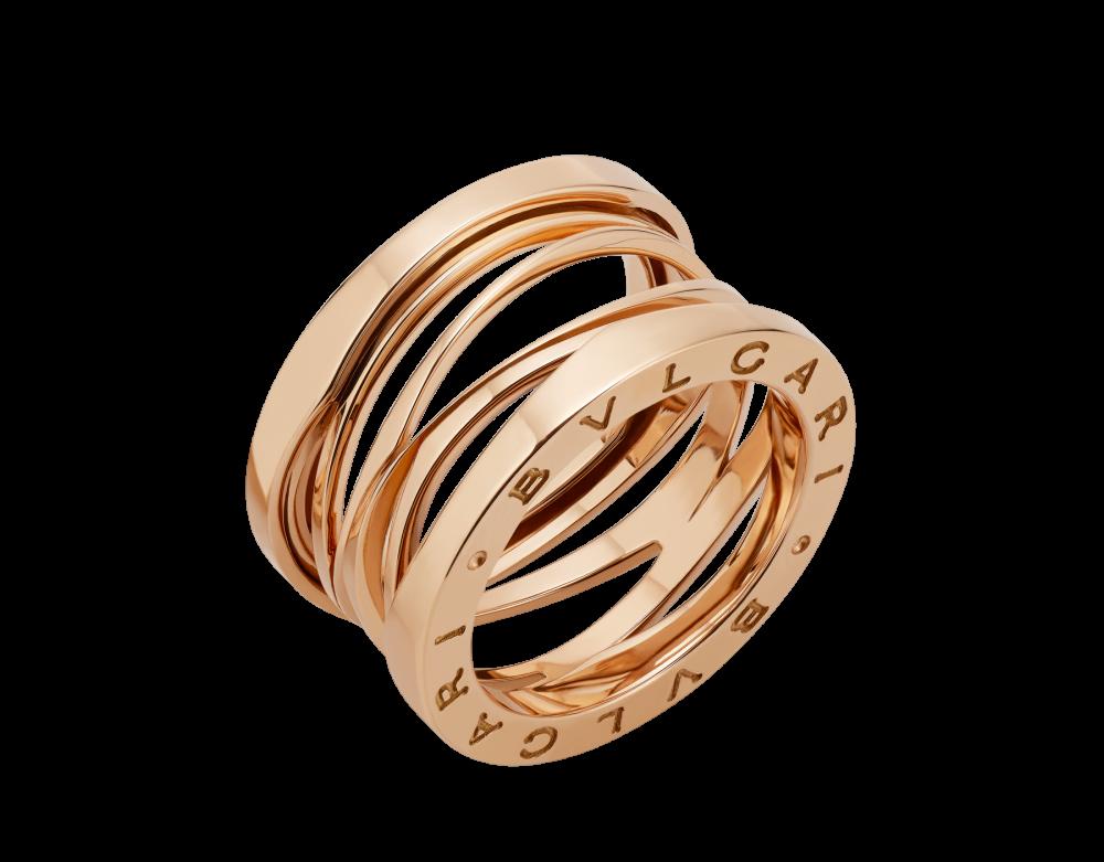 BULGARI B.zero1 Design Legend four-band ring AN858030