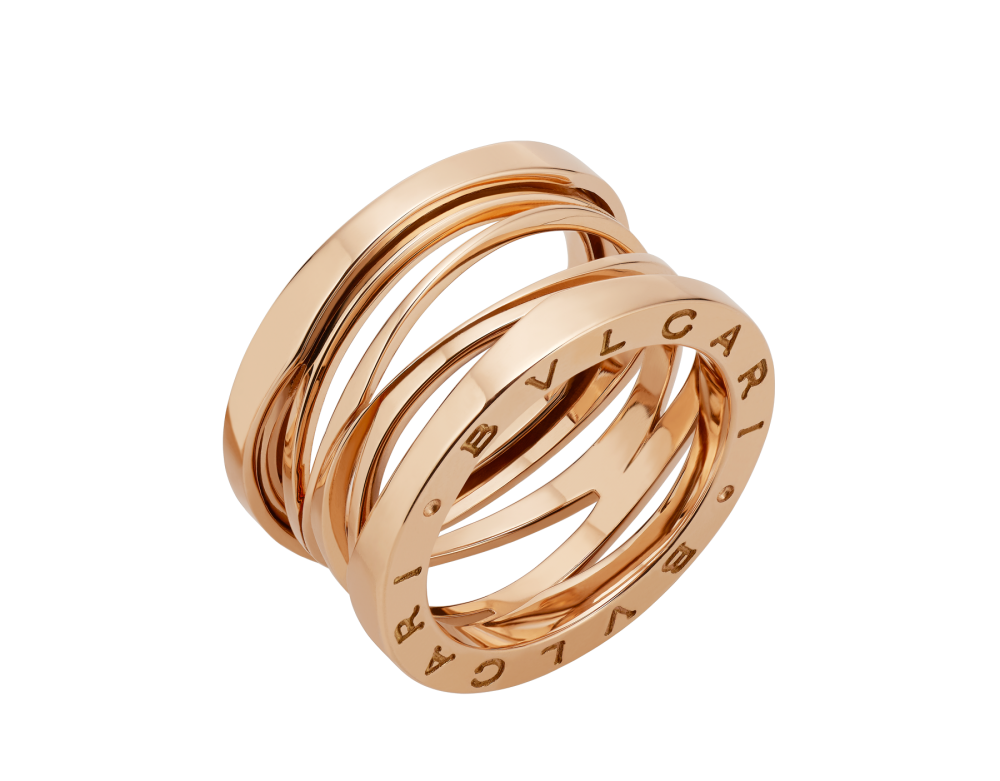 BULGARI B.zero1 Design Legend four-band ring AN858030