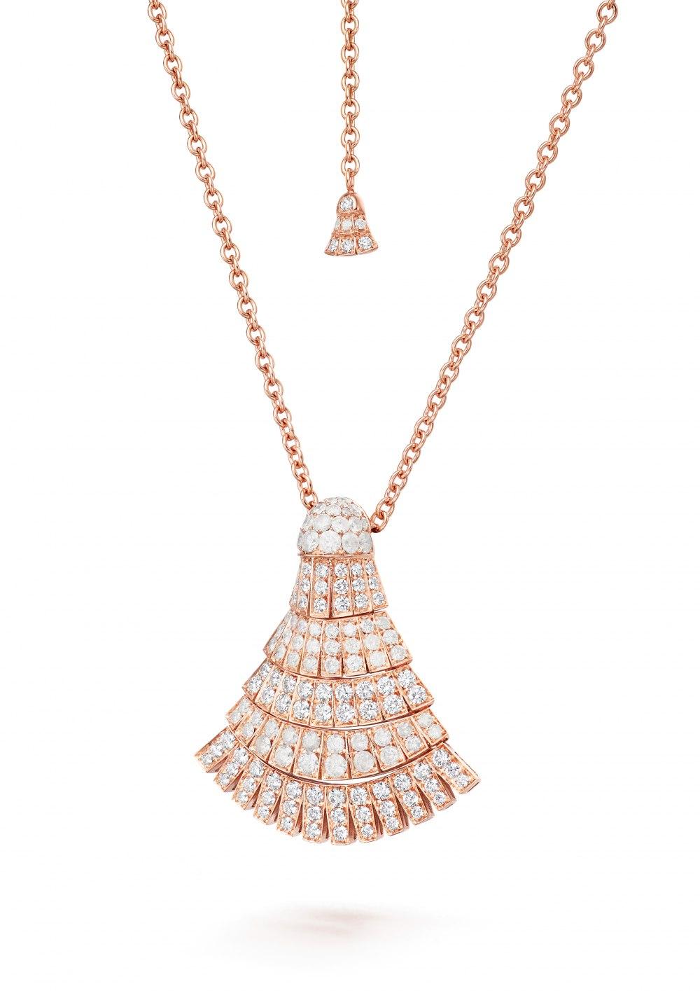 DE GRISOGONO Ventaglio necklace 91508_04