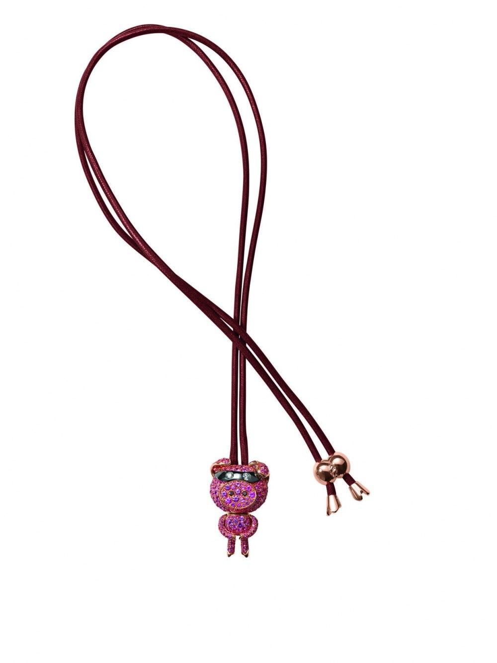 DE GRISOGONO Crazymals necklace 92042_04