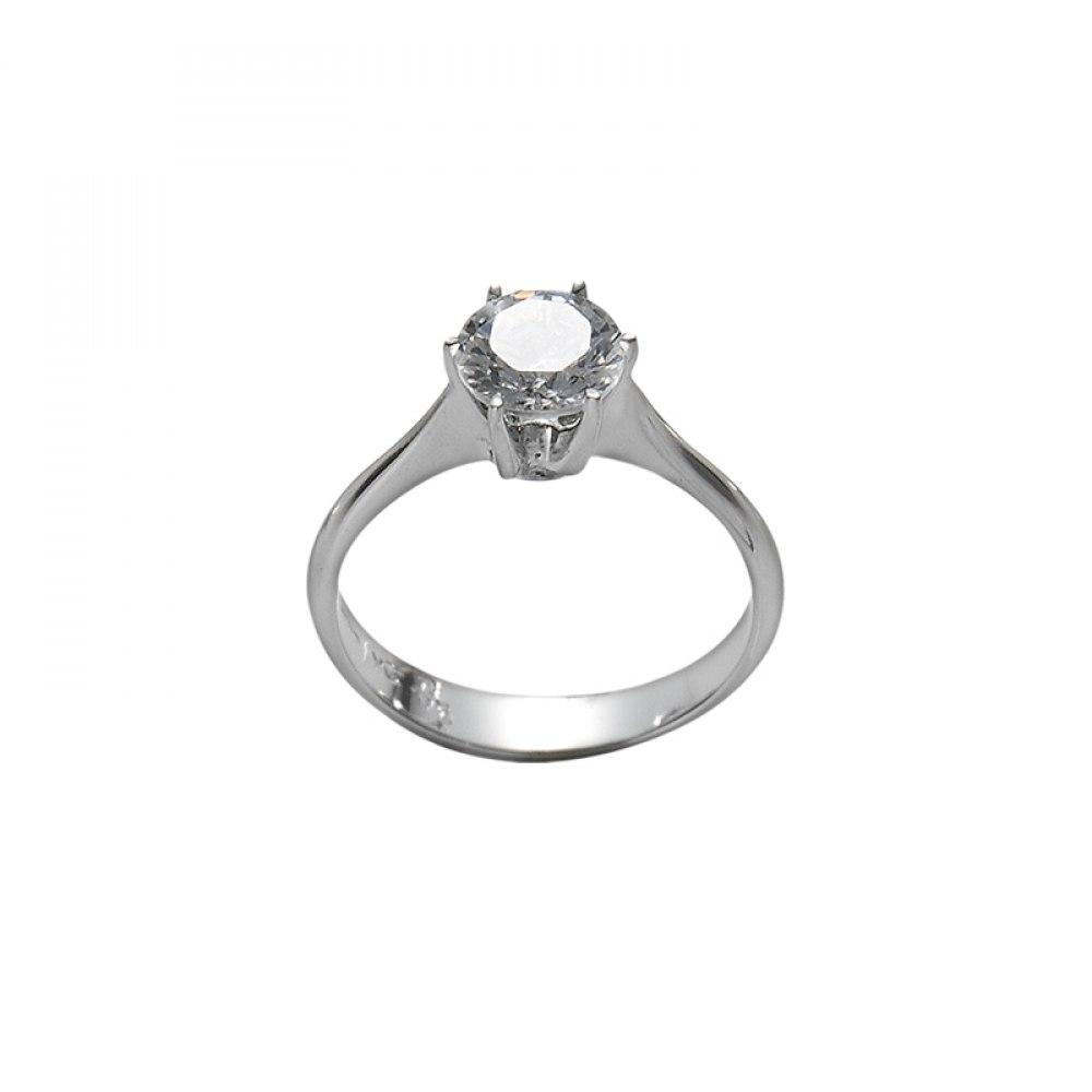 KESSARIS Solitaire Brilliant Diamond Ring DAP000001