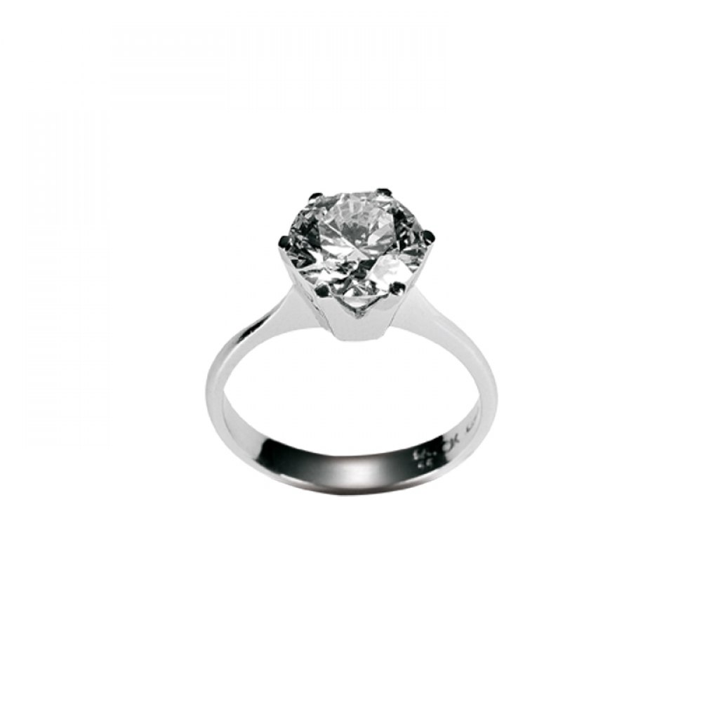 KESSARIS Solitaire Brilliant Diamond Ring DAP84109