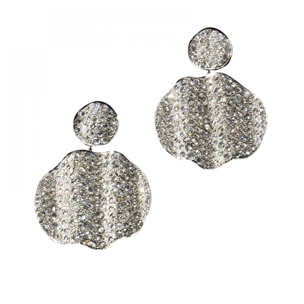 KESSARIS Statement Diamond Earrings SKE102952