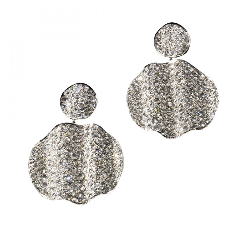 KESSARIS Statement Diamond Earrings SKE102952