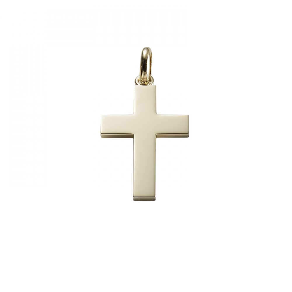 KESSARIS Gold Cross Pendant STE171751