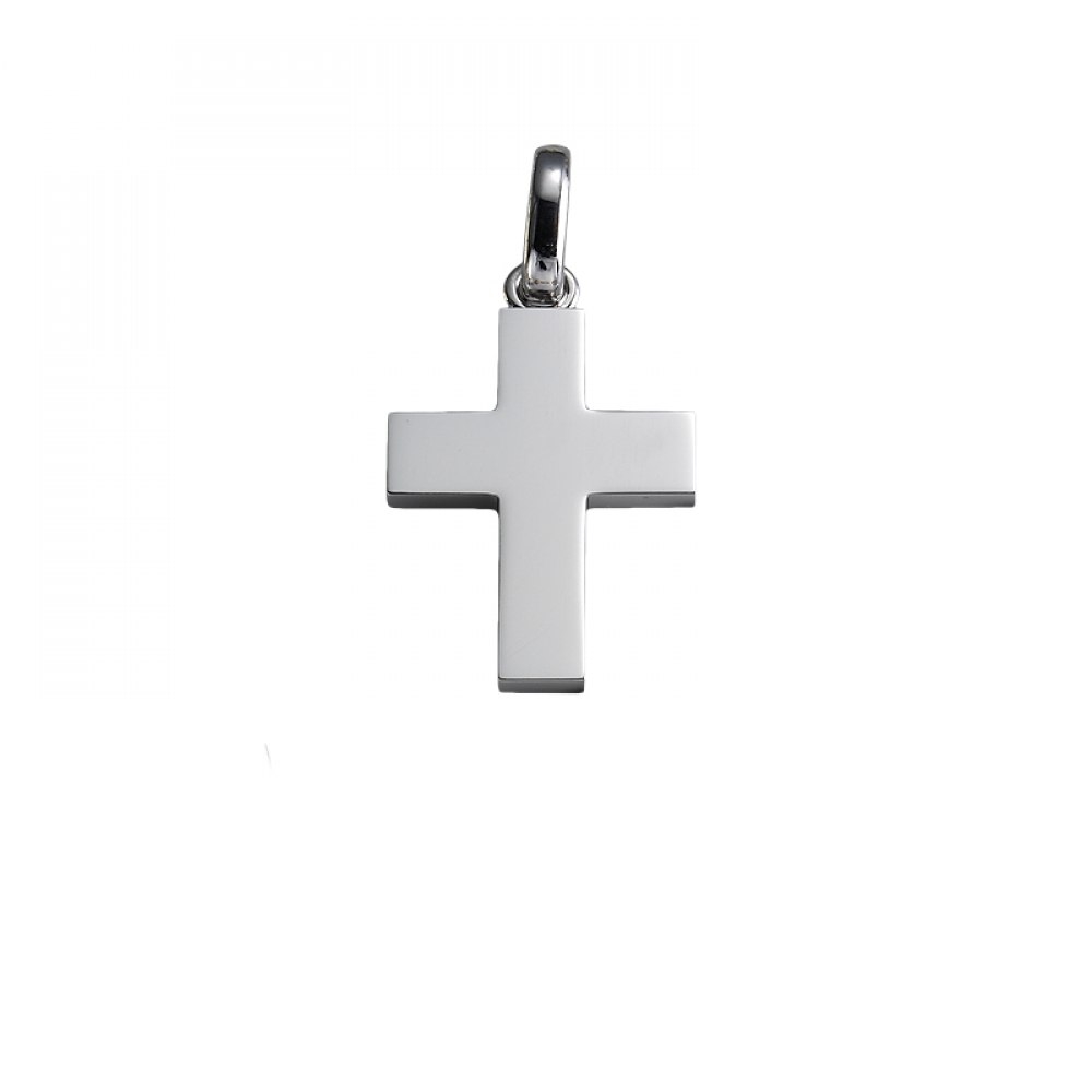 KESSARIS White Gold Cross Pendant STP150133