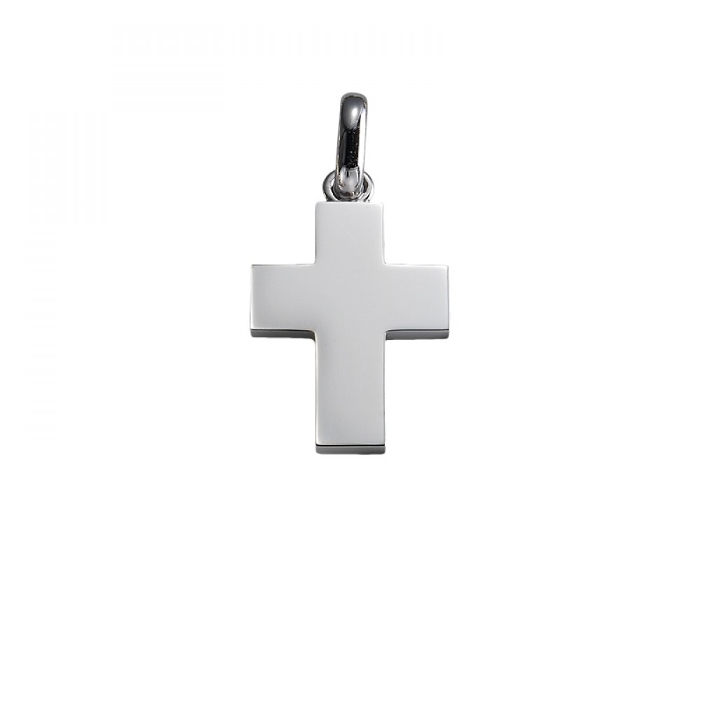 KESSARIS White Gold Cross Pendant STP180070