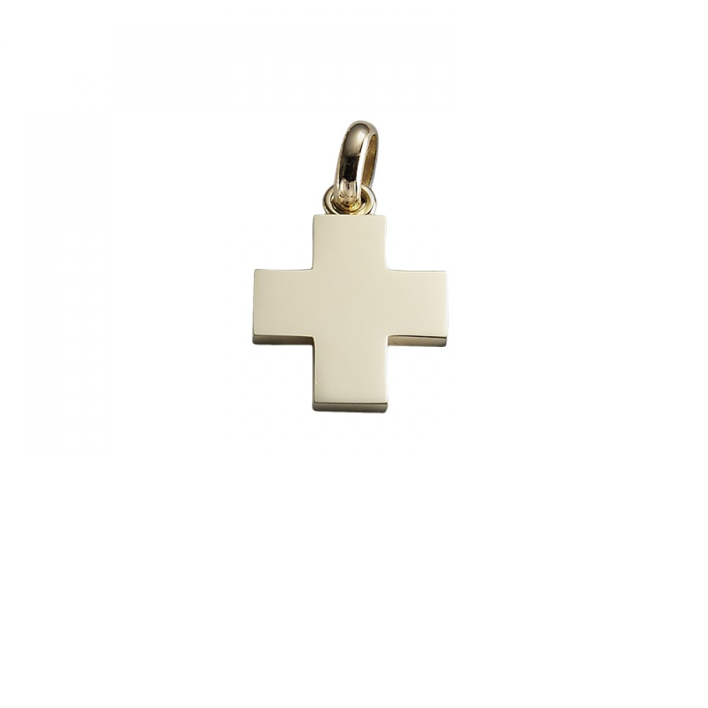 KESSARIS Gold Cross Pendant STP180081