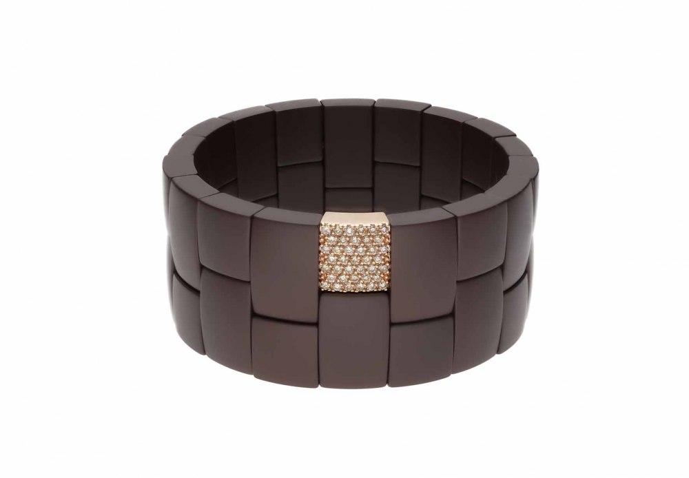 ROBERTO DEMEGLIO Domino 2 row bracelet 013
