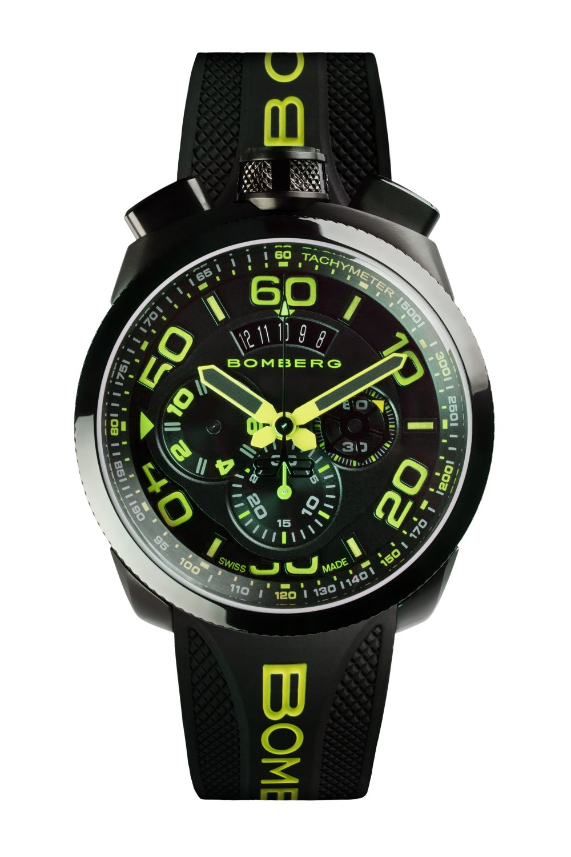 BOMBERG BOLT-68 Neon Green 45mm BS45CHPBA0283