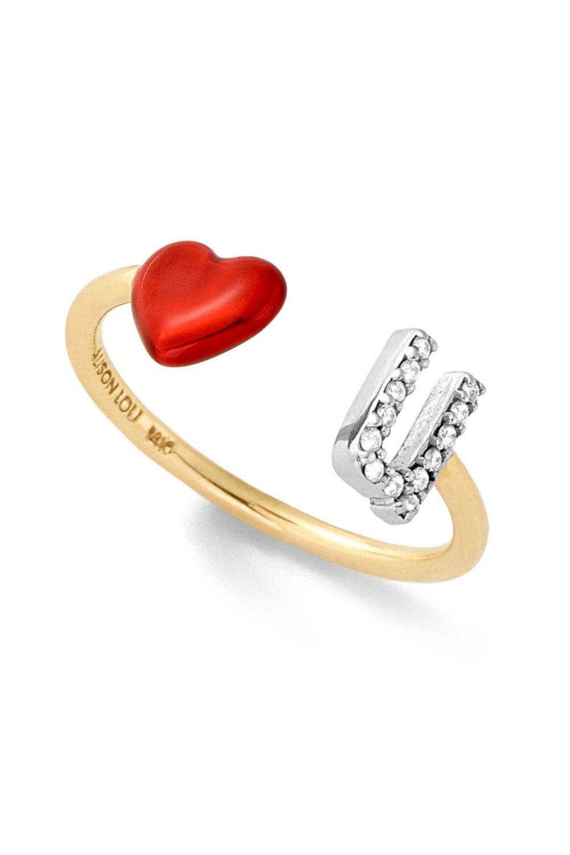 ALISON LOU Love U Ring DAE181510