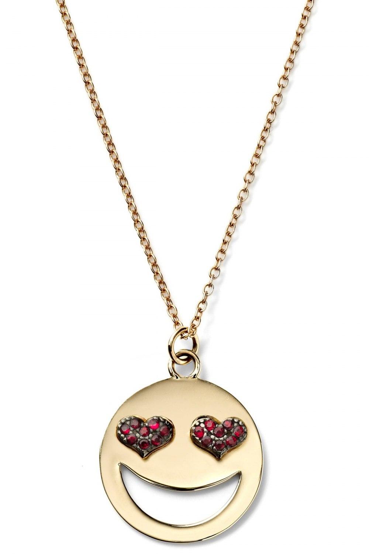 ALISON LOU Large Lovestruck Necklace KOE181520