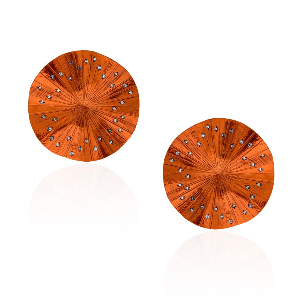 ANASTASIA KESSARIS Disco Clique Earrings SKP192014