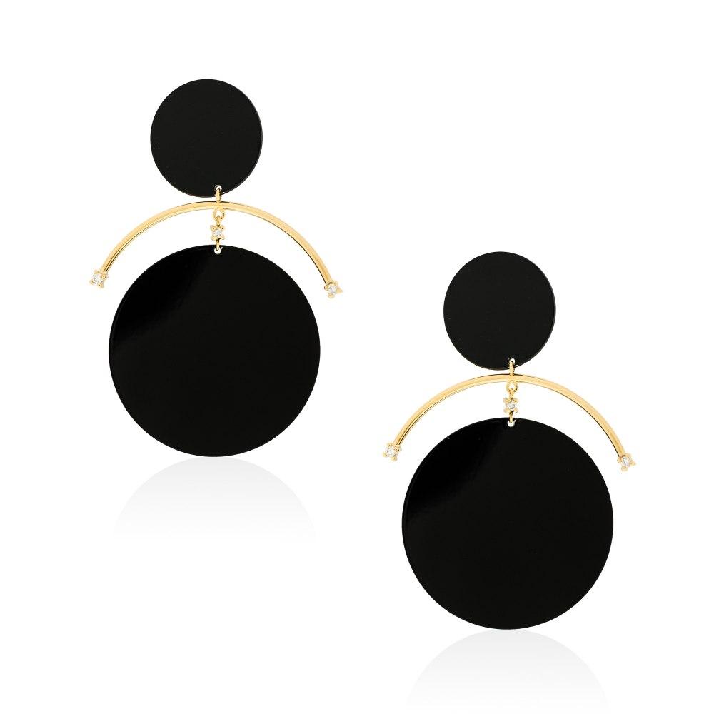 ANASTASIA KESSARIS Eclipse Earrings SKP191986