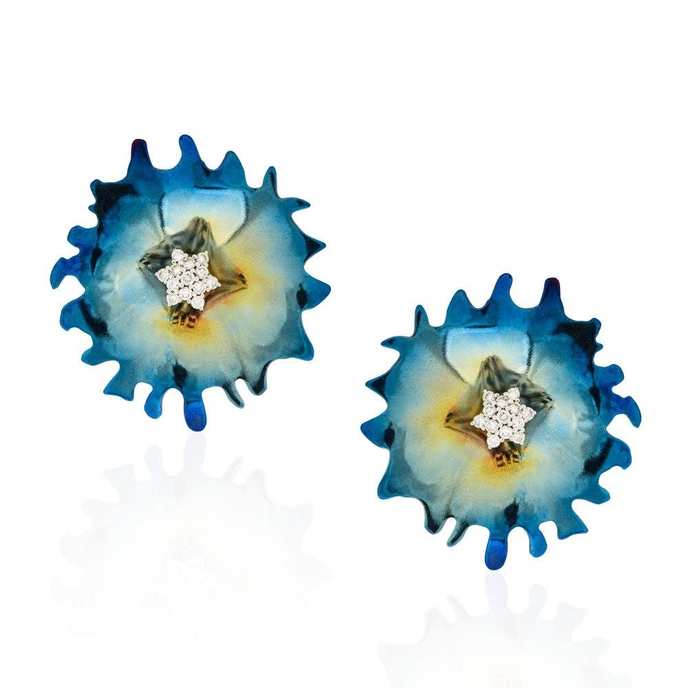 ANASTASIA KESSARIS Flowerwork Earrings SKP191990