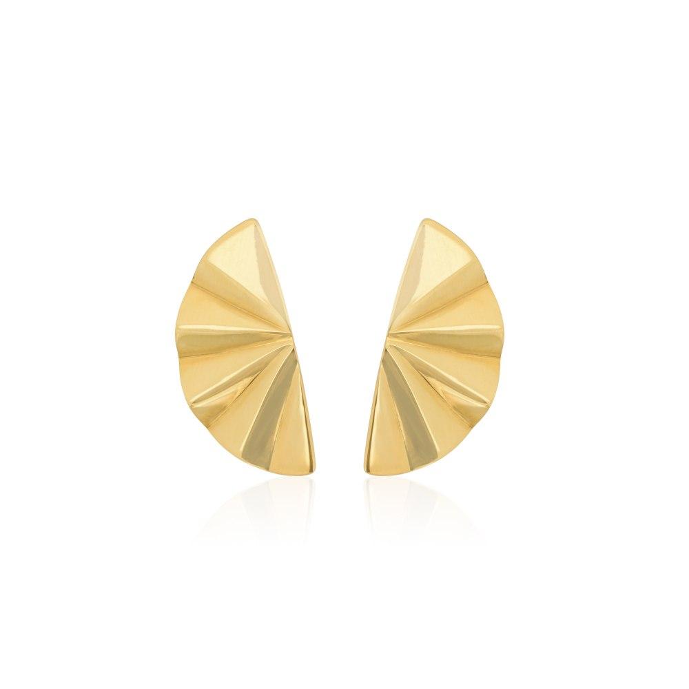 ANASTASIA KESSARIS Gold Maiko Earrings SKP200066