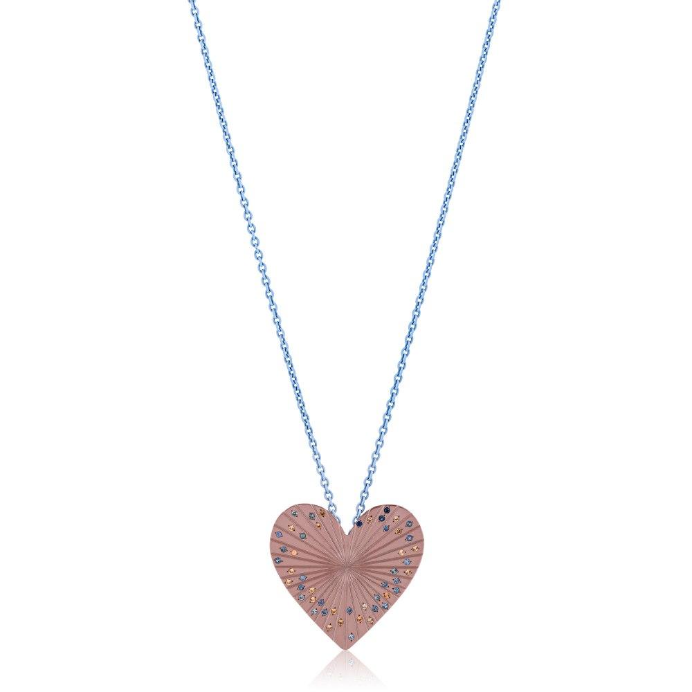 ANASTASIA KESSARIS Love Titanium Sapphire Pendant Necklace A.PD.AP0078-DFE169310