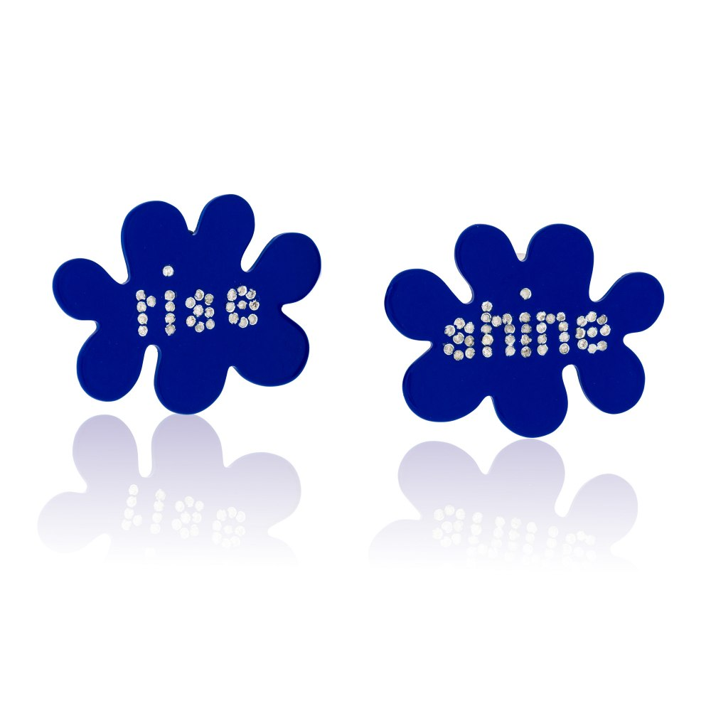 ANASTASIA KESSARIS Rise & Shine Aluminium Earrings SKE190724