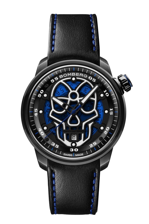 BOMBERG BB-01 Automatic Blue Skull CT43APBA.23-2.11