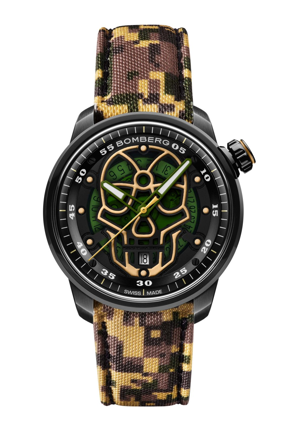 BOMBERG BB-01 Automatic Military Skull Limited Edition CT43APBA.23-4.11