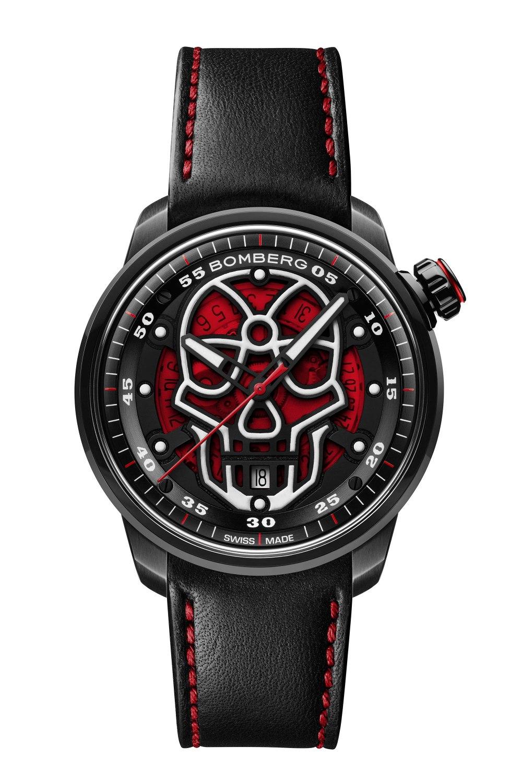 BOMBERG BB-01 Automatic Red Skull CT43APBA.23-1.11