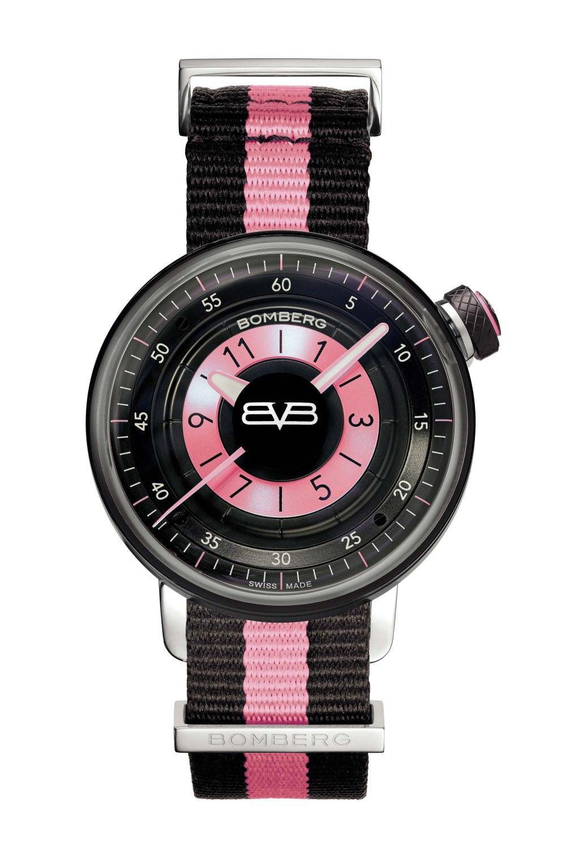 BOMBERG BΒ-01 Lady Black & Pink CT38H3PBA.05-2.9