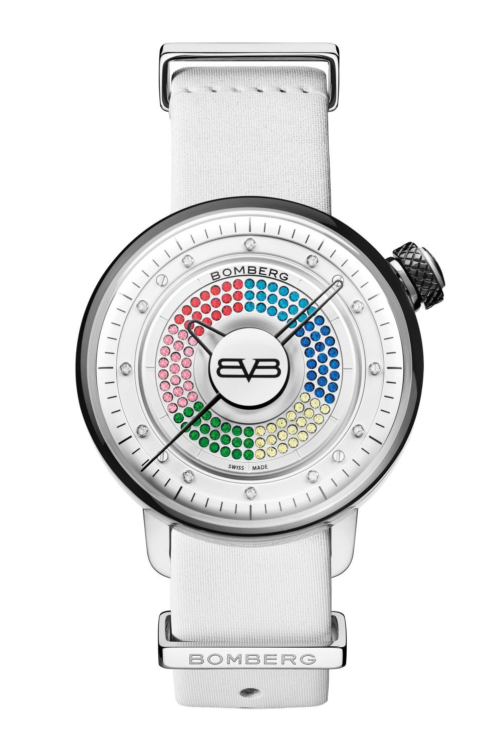 BOMBERG BB-01 Lady Skylighter White CT38H3SS.13-1.9