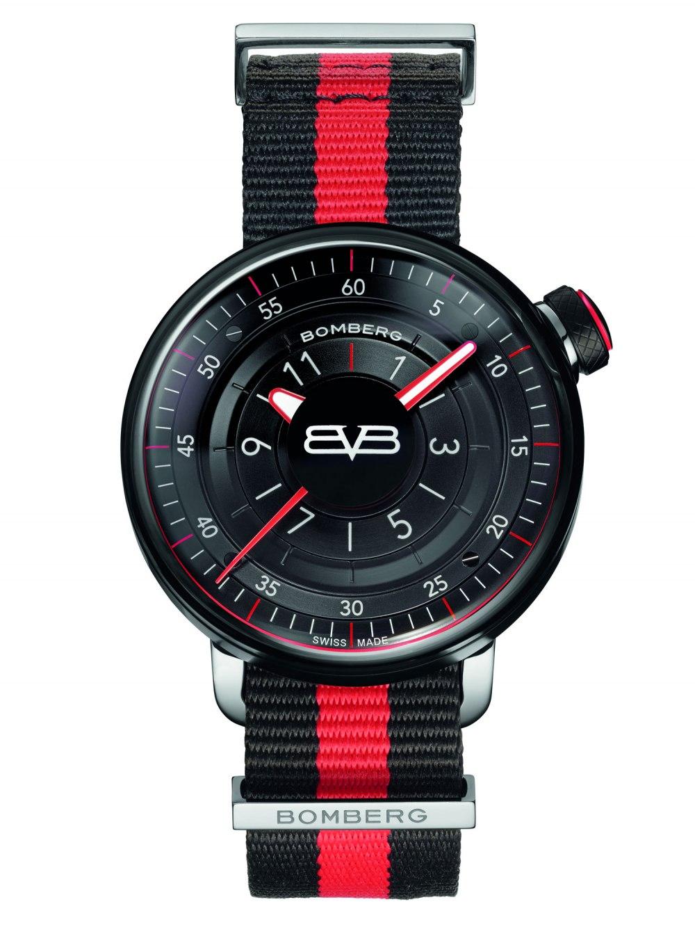 BOMBERG BB-01 Black & Red Gent 43mm CT43H3PBA.01-2.9