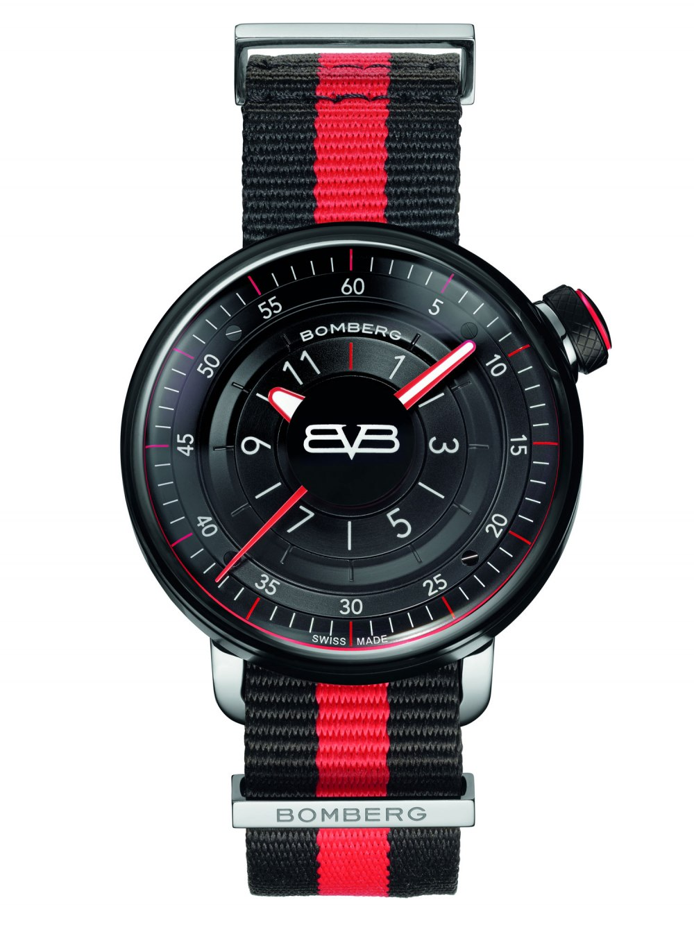 BOMBERG BB-01 Black & Red Gent 43mm CT43H3PBA.01-2.9
