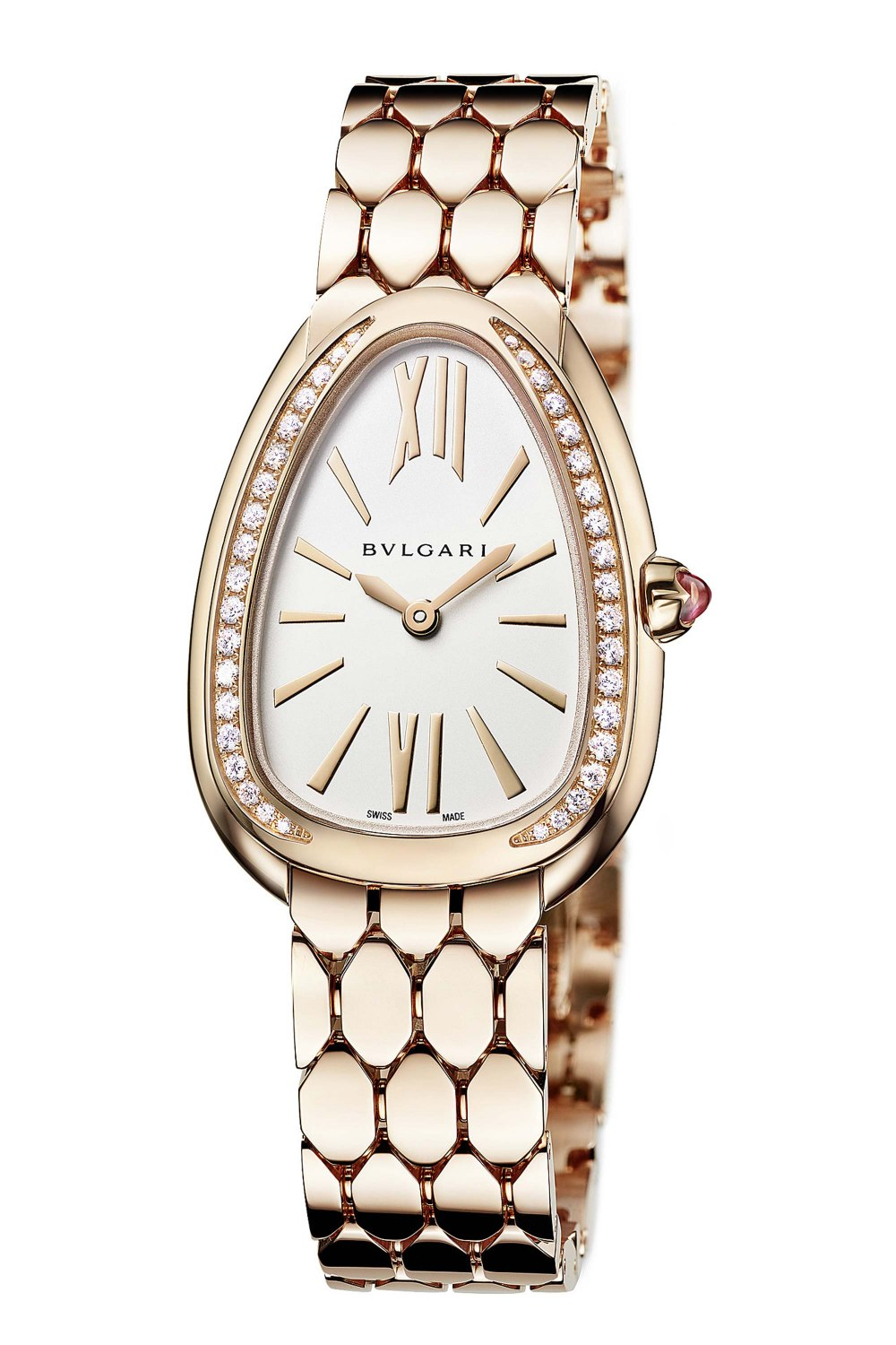 BULGARI Serpenti Seduttori Rose Gold Diamonds 103146