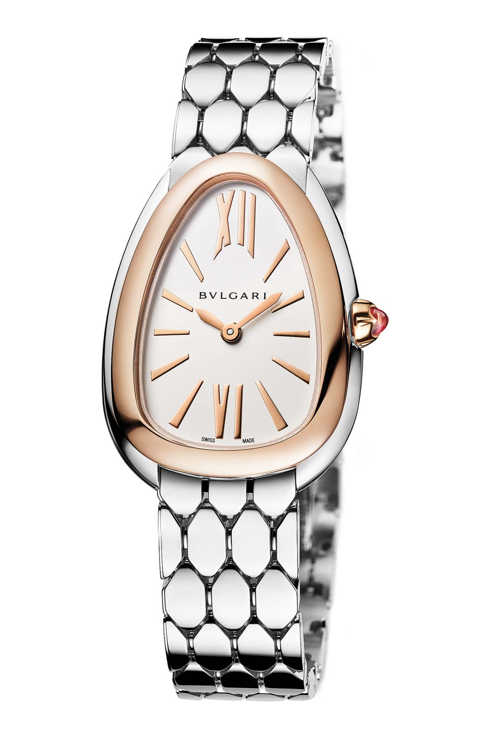 BULGARI Serpenti Seduttori Stainless Steel Rose Gold 103144