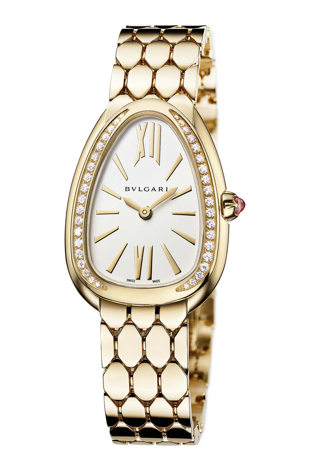BULGARI Serpenti Seduttori Yellow Gold Diamonds 103147