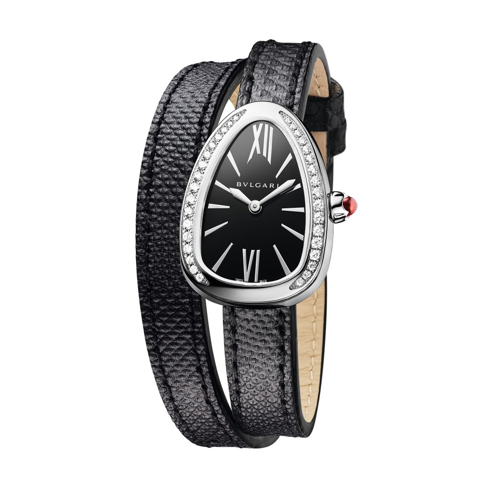 BULGARI Serpenti Skin with Diamonds 32mm 102921